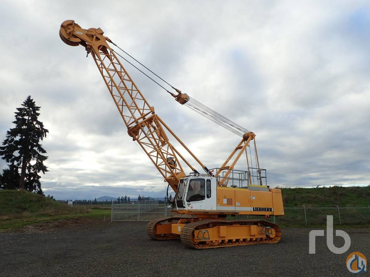 Sold 1998 LIEBHERR LR853HD Crane for  in Chehalis Washington on CraneNetworkcom