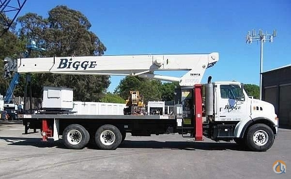 2004 TEREX BT 4792 Crane for Sale in La Mirada California on CraneNetwork.com
