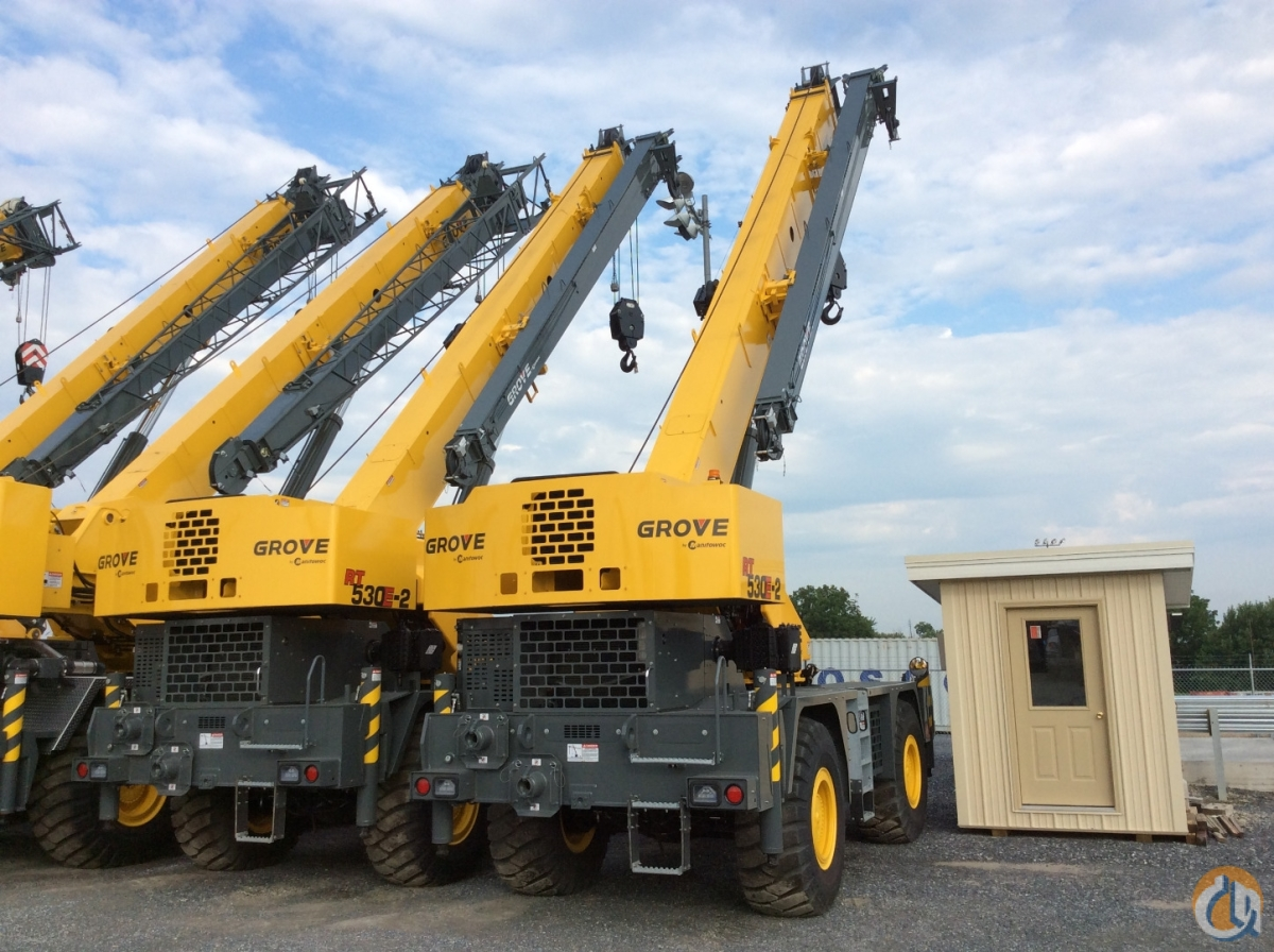 Sold 2017 Grove RT530E-2 Crane for  in Cleveland Ohio on CraneNetwork.com