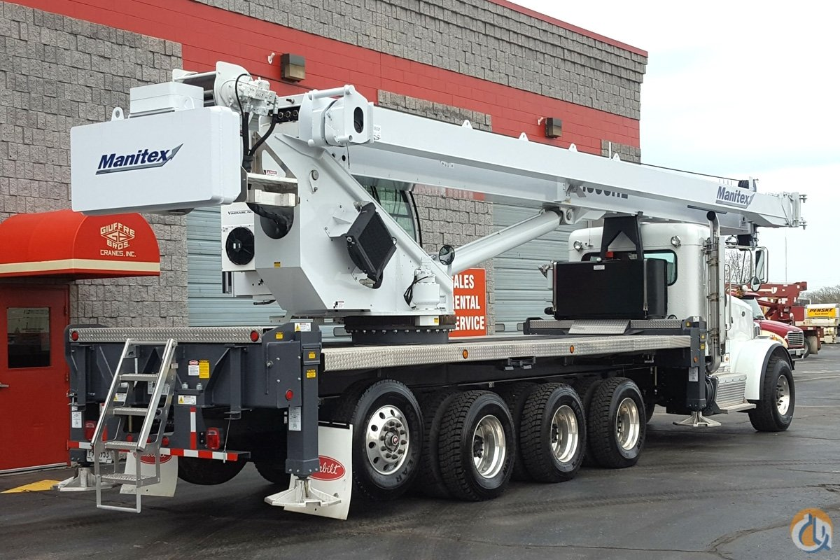 50 TON MANITEX w HEAVY LIFT PACKAGE Crane for Sale in Milwaukee Wisconsin on CraneNetworkcom