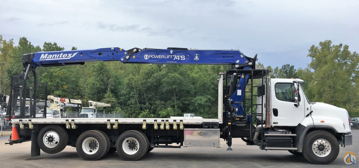 Sold NEW 2019 Manitex PL 74S Crane for  in Milwaukee Wisconsin on CraneNetwork.com