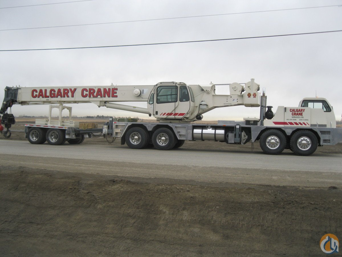2007 Terex T775 Crane for Sale in Calgary Alberta on CraneNetworkcom