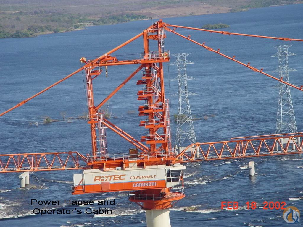 ROTEC TC2500 FOR SALE or RENTLEASE Crane for Sale or Rent in Hyderabad Andhra Pradesh on CraneNetwork.com