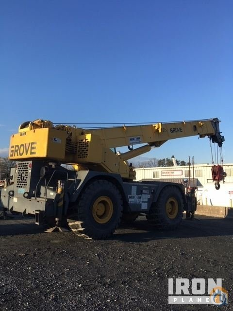 2000 Grove RT875C Rough Terrain Crane Crane for Sale in Jessup Maryland on CraneNetwork.com