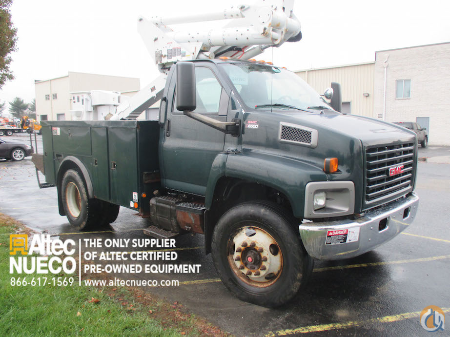 2005 ALTEC TA40 Crane for Sale in Frederick Maryland on CraneNetwork.com