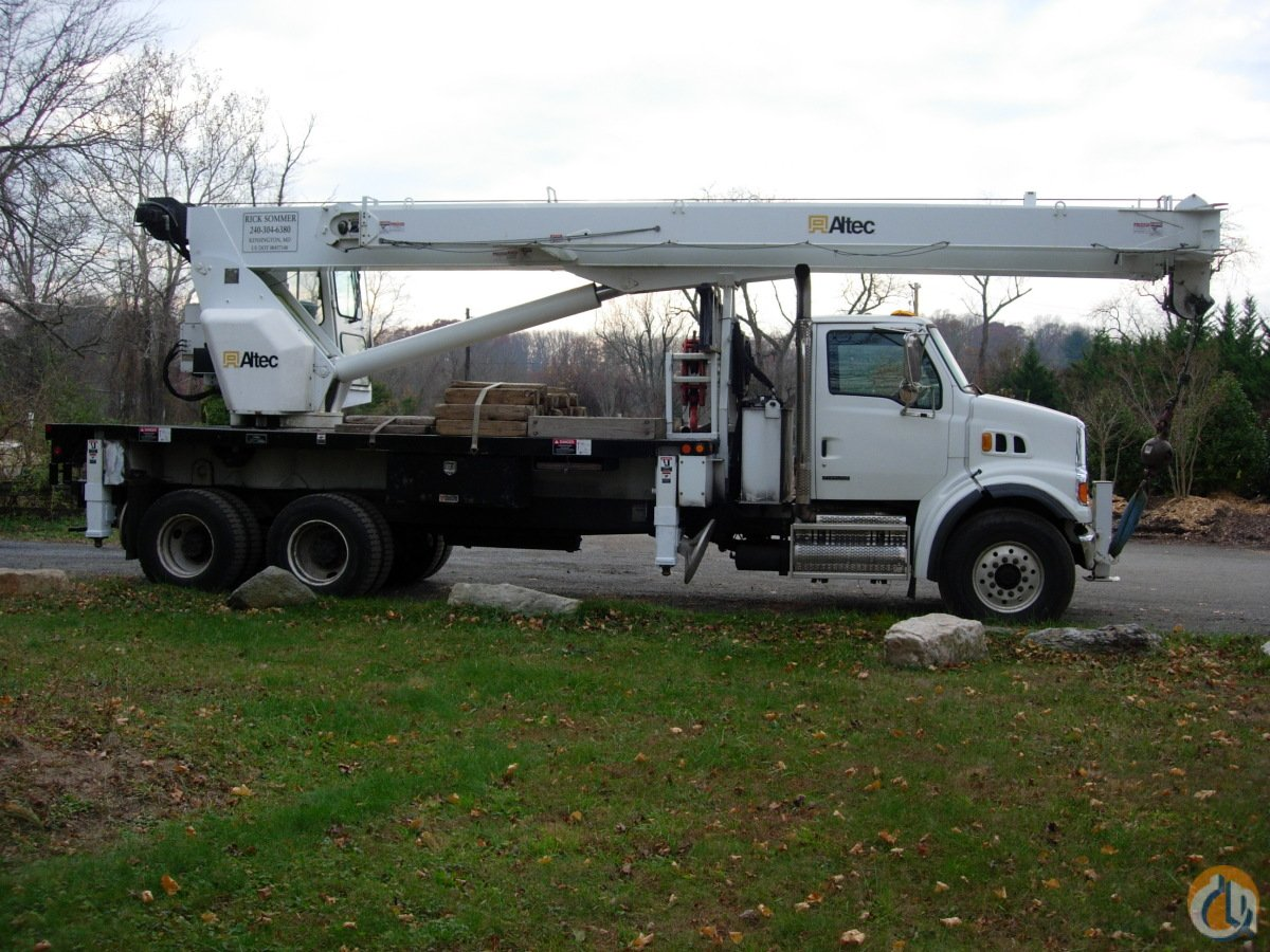 Sold 2008 Altec 26 Ton Crane Crane for  in Silver Spring Maryland on CraneNetworkcom