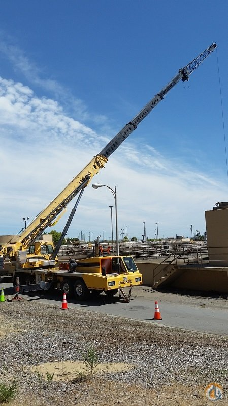 1999 Link-Belt HTC-8670 Crane for Sale in Castro Valley California on CraneNetwork.com