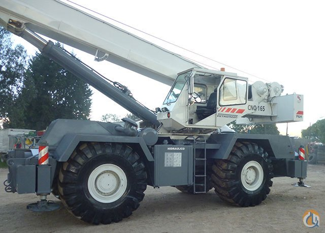 Sold PampH CN165 Rough Terrain Crane For Sale Crane for  on CraneNetworkcom