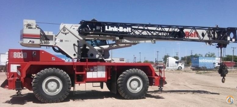 2012 LINK-BELT RTC-8030 II Crane for Sale in Bridgeview Illinois on CraneNetwork.com