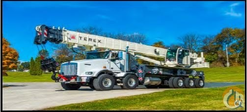 2019 Terex Crossover 8000 Mounted on a Kenworth T800 Crane for Sale in Decatur Georgia on CraneNetwork.com