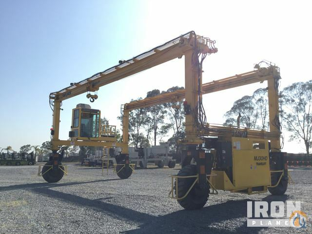 2017 unverified MiJack MJ30HD Rubber Tire Gantry Crane Crane for Sale in Polotitln de la Ilustracin State of Mexico on CraneNetwork.com