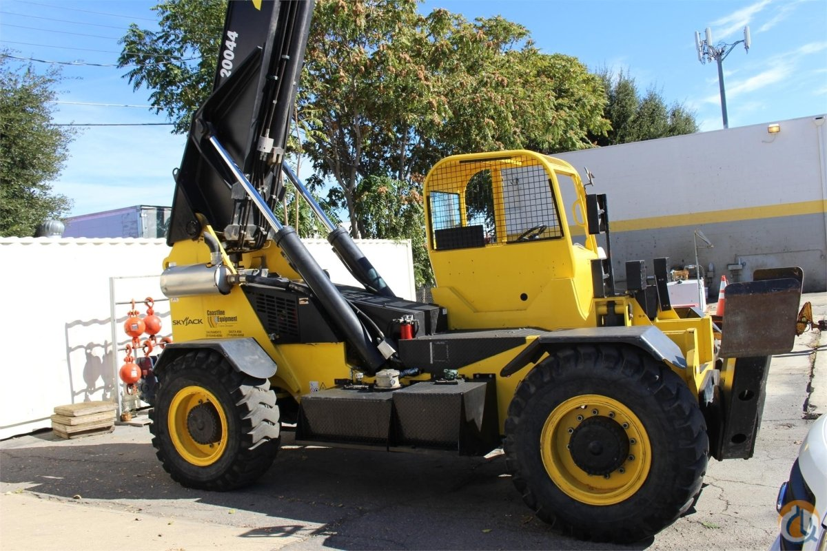 2013 SKYJACK ZB20044 Crane for Sale or Rent in Sacramento California on CraneNetwork.com