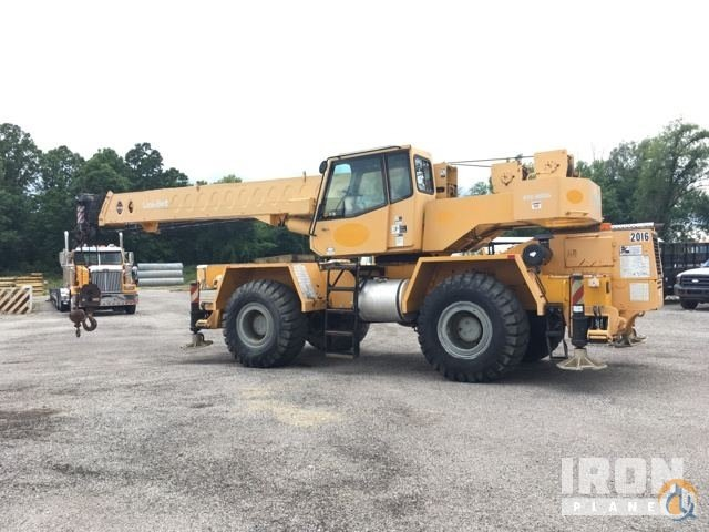 Sold 1998 Link-Belt RTC-8035 Rough Terrain Crane Crane for  in Sharon Center Ohio on CraneNetwork.com