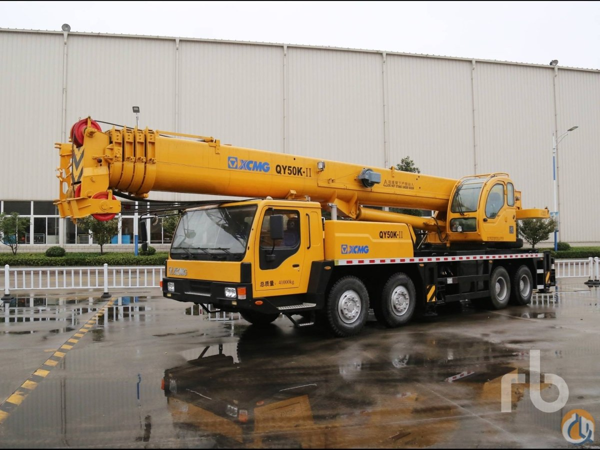 Sold 2014 XCMG QY50K-II Crane for  in Arar Northern Borders Province on CraneNetworkcom