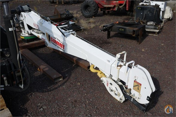 2011 Crane SUMMITT 6620 K583 Crane for Sale in Hatfield Pennsylvania on CraneNetworkcom