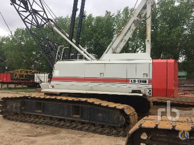 Sold 1989 LINK-BELT LS138H Crawler Crane Crane for  in Minneapolis Minnesota on CraneNetworkcom