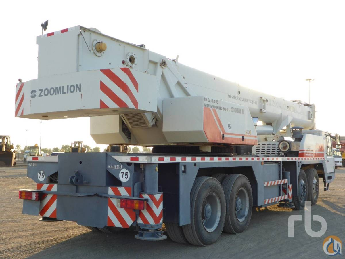Sold 2011 ZOOMLION QY70V Crane for  in Arar Northern Borders Province on CraneNetworkcom