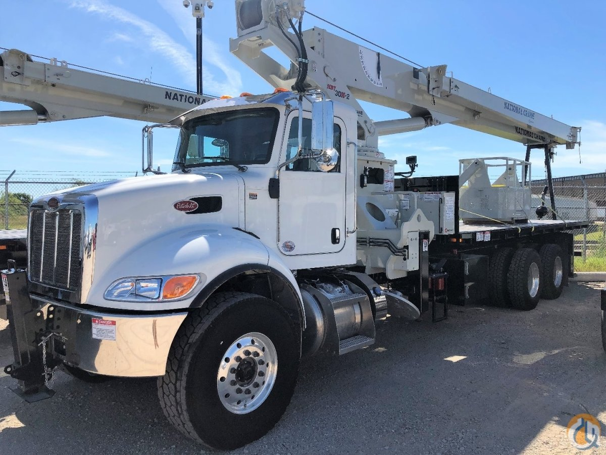 National 30110H Mounted on 2019 Peterbilt 348 Crane for Sale or Rent in Denton Texas on CraneNetwork.com