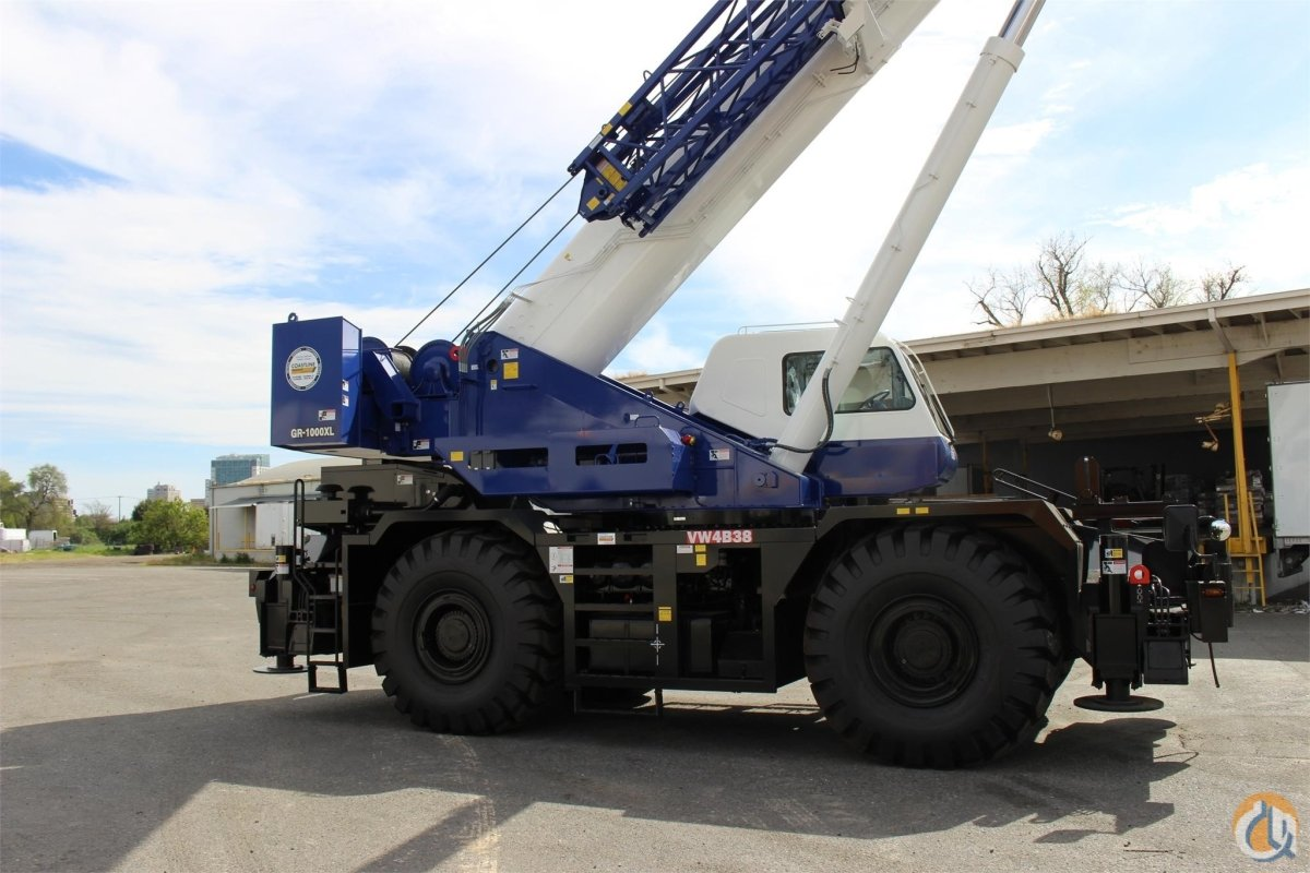 2017 TADANO GR1000XL Crane for Sale or Rent in Sacramento California on CraneNetwork.com