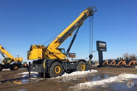 2006 GROVE RT890E Crane for Sale in Fargo North Dakota on CraneNetwork.com