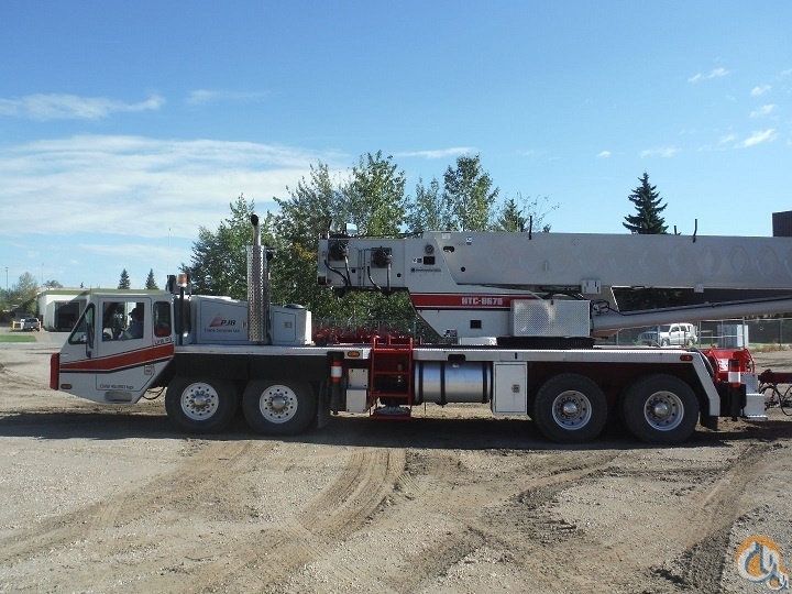 Link-Belt HTC-8670 Truck Mounted Telescopic Boom Cranes Crane for Sale 2001 Link-Belt HTC-8670 Hydraulic Truck Crane cw Dolly  in Edmonton  Alberta  Canada 215232 CraneNetwork