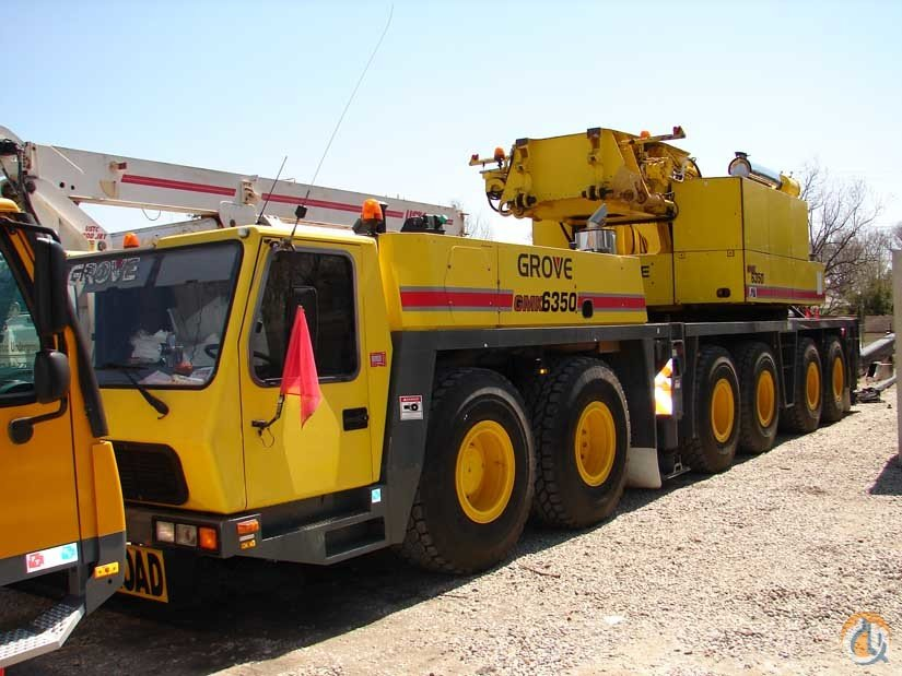 2001 Grove GMK6350 Crane for Sale in Atlanta Georgia on CraneNetwork.com