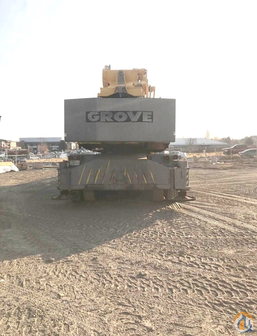 1982 Grove TM1300 130 Ton Hydraulic Truck Crane CranesList ID 323 Crane for Sale on CraneNetwork.com