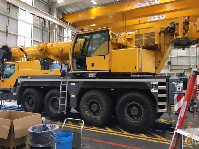 2011 Liebherr LTM 1070-4.2 Crane for Sale on CraneNetwork.com