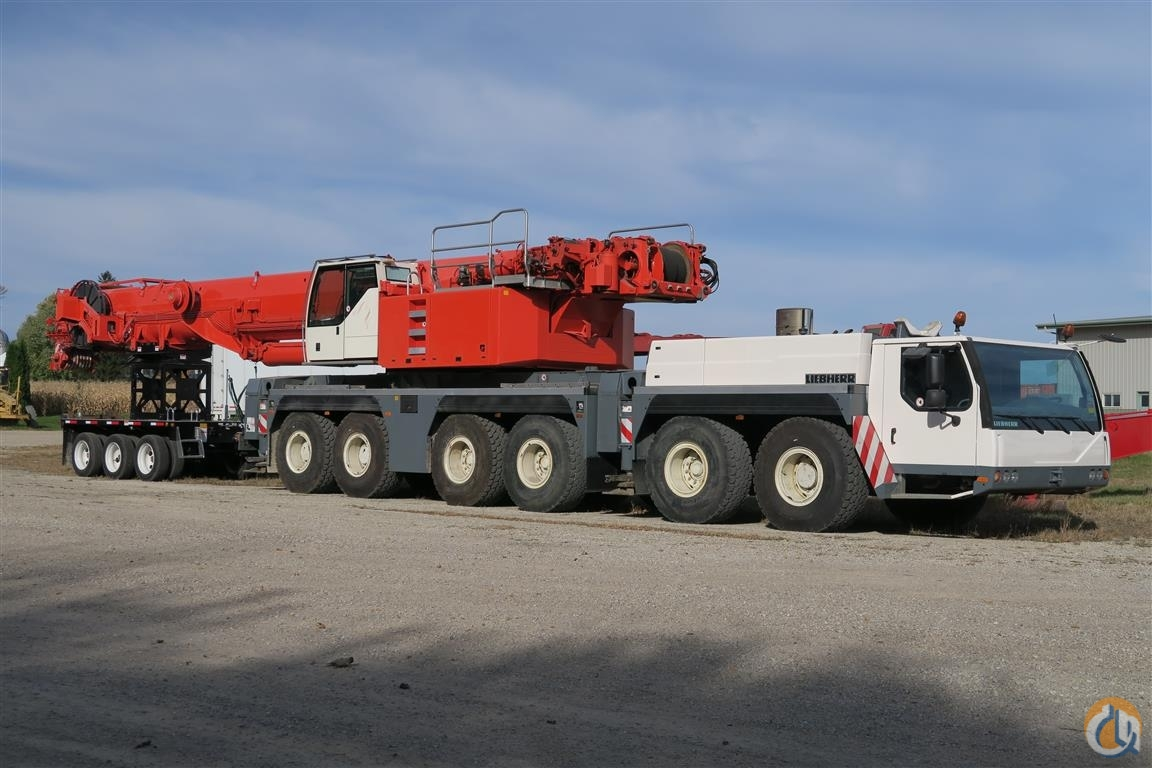 2007 Liebherr LTM1250-6.1 Crane for Sale in Henderson Minnesota on CraneNetwork.com