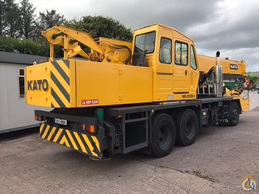 Kato NK250E-V 25 Ton Truck Mounted Crane Crane for Sale in Cork County Cork on CraneNetwork.com