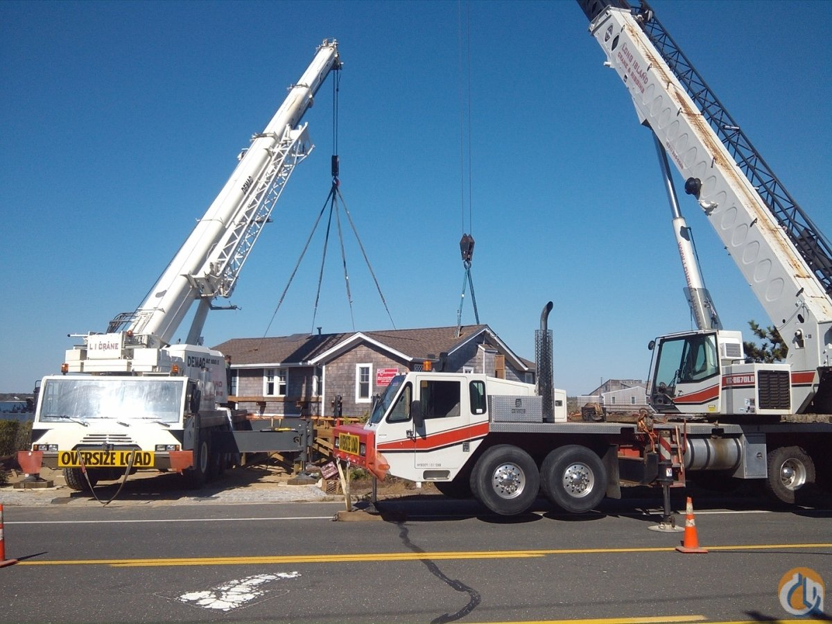 2002 Link Belt HTC8670LB Crane for Sale in Westhampton Beach New York on CraneNetworkcom