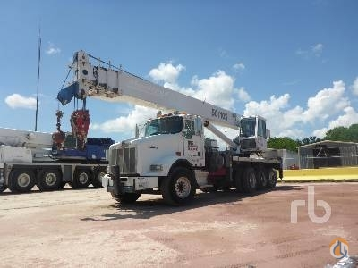 2008 KENWORTH T800 Crane for Sale in Humble Texas on CraneNetworkcom