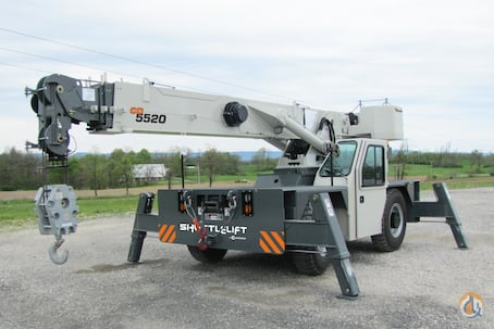 Shuttlelift CD5515-2 Carry Deck Industrial Cranes Crane for Sale 2017 Shuttlelift CD5515-2  in  Pennsylvania  United States 176155 CraneNetwork