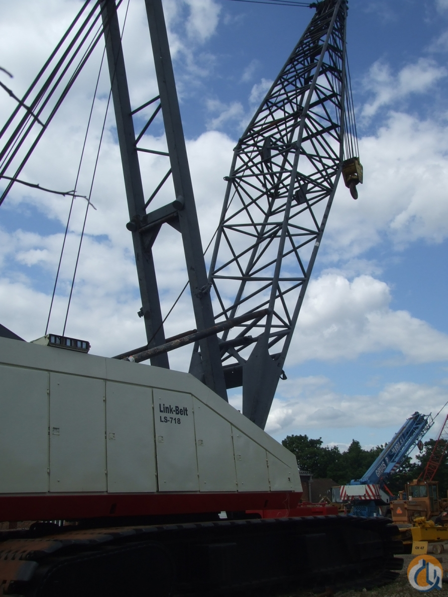 250-TON LINK-BELT CRAWLER CRANE Crane for Sale in Dartford England on CraneNetwork.com
