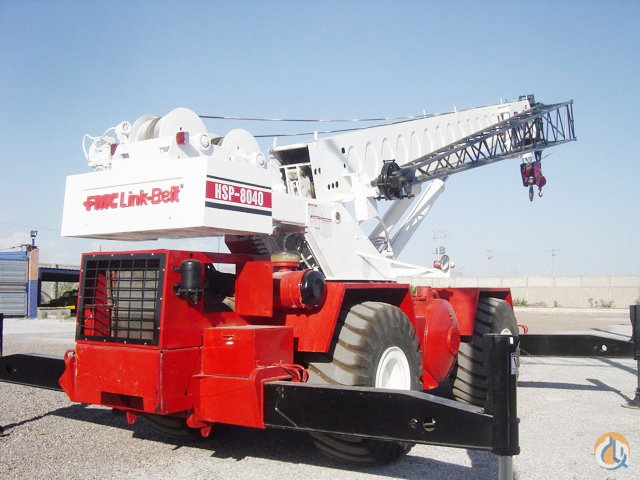 1981 Link-Belt HSP-8040 Rough Terrain Crane for Sale on CraneNetwork.com