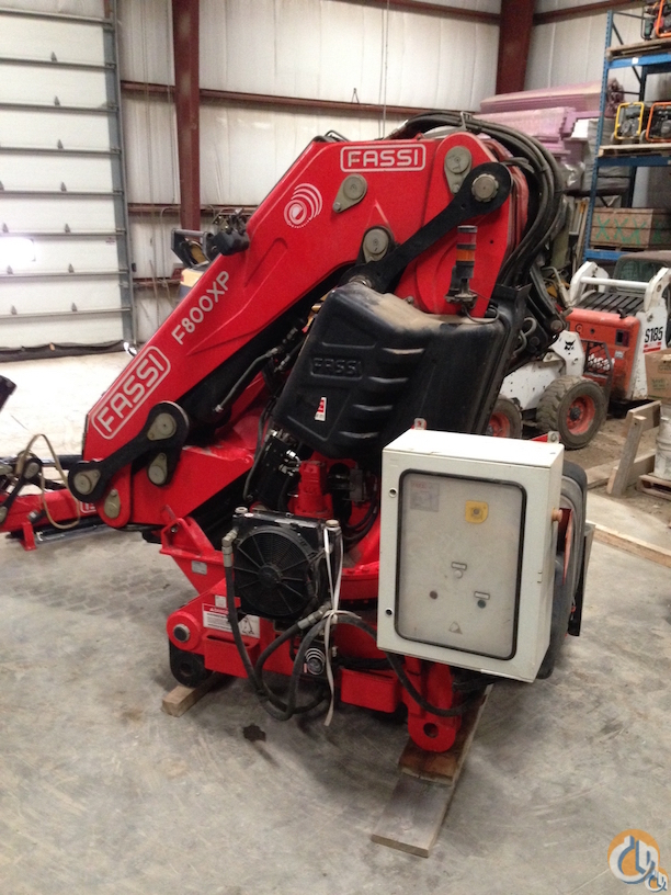 2008 Fassi F800 BXP28 Crane for Sale on CraneNetwork.com