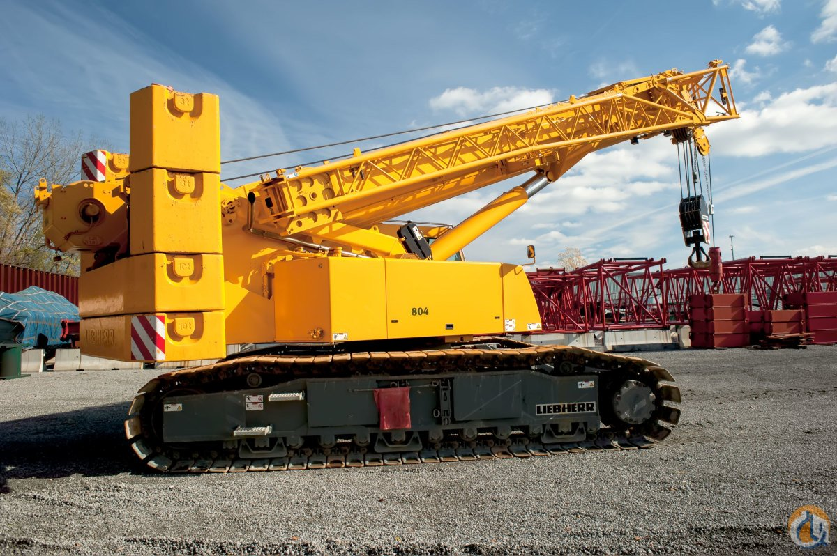 2010 LIEBHERR LTR-1100 TELESCOPIC BOOM CRAWLER CRANE Crane for Sale on CraneNetwork.com