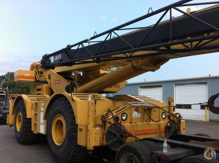 1998 Grove RT750 Crane for Sale in Syracuse New York on CraneNetwork.com