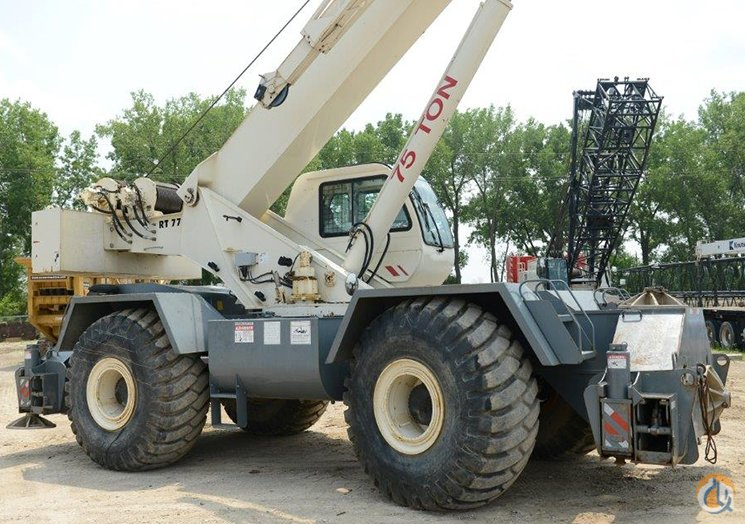 Terex RT775 Rough Terrain Crane Crane for Sale in Cedar Rapids Iowa on CraneNetworkcom