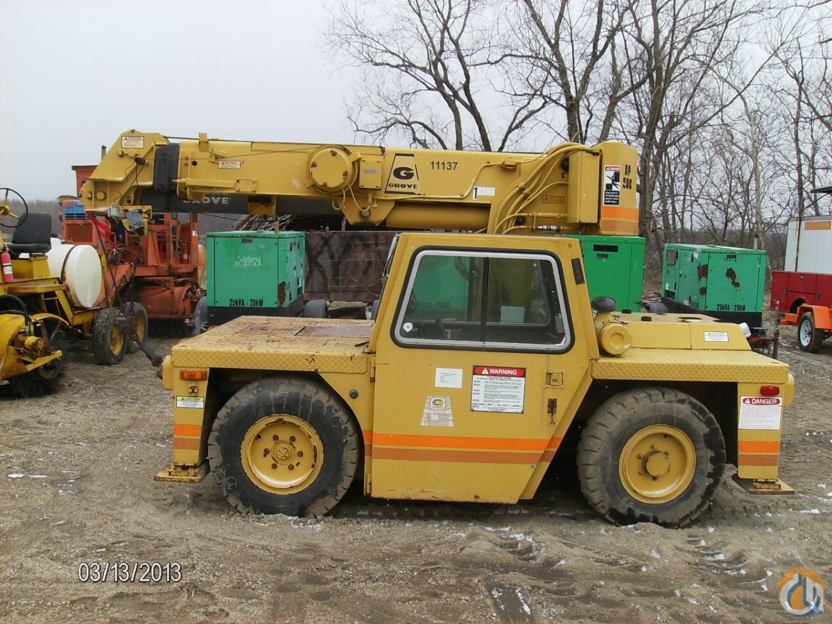 GROVE AP-206 CARRY DECK CRANE Crane for Sale in Elizabeth New Jersey on CraneNetwork.com