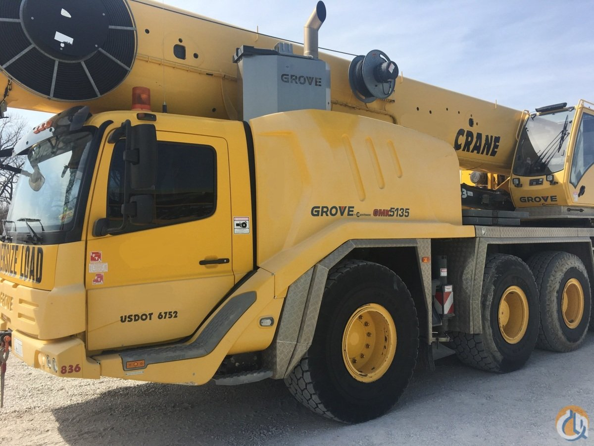 Sold 2013 GROVE GMK-5165B Crane for  in Houston Texas on CraneNetwork.com