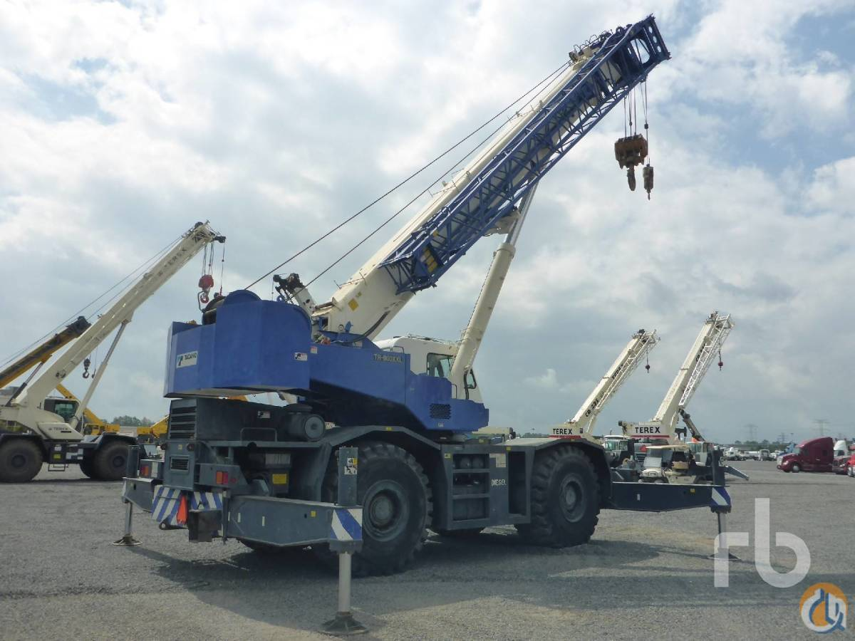 Sold 2005 TADANO TR800XXL-4 80 ton 4x4x4 Rough Terrain Crane Crane for  in Houston Texas on CraneNetwork.com