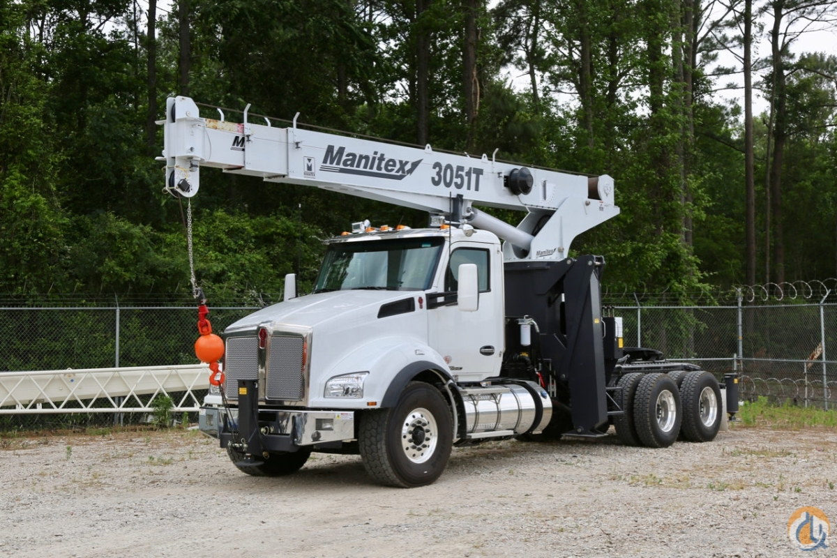 New 2019 Manitex 3051T mounted to Kenworth T880 tractor Crane for Sale in Victoria Texas on CraneNetwork.com