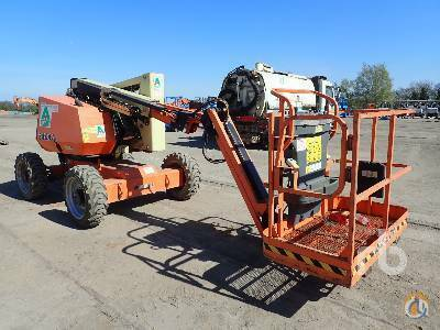 2010 JLG 340AJ Crane for Sale in Maltby England on CraneNetwork.com