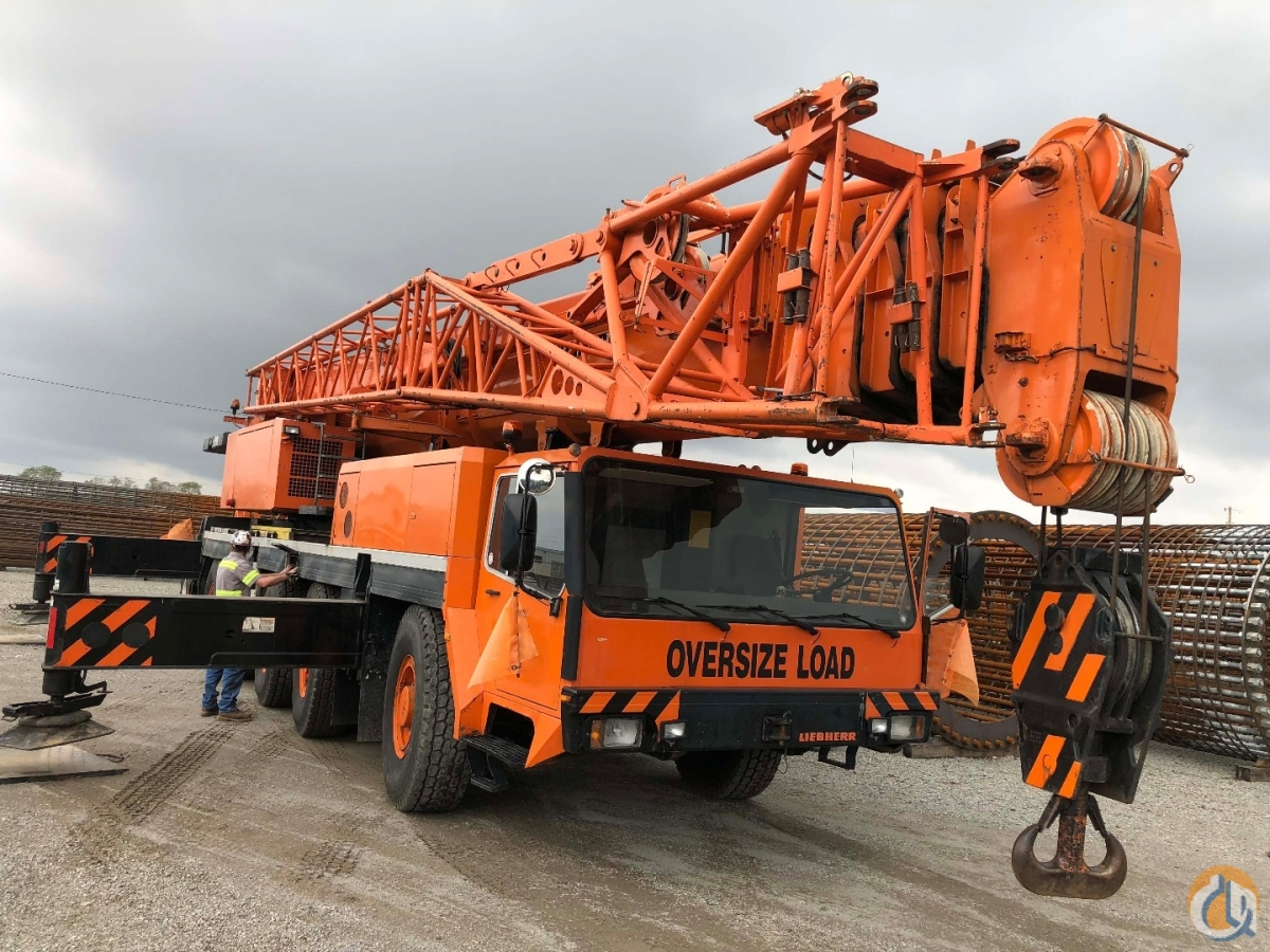 Sold 1997 LIEBHERR LTM1120-1 18702 Crane for in Duluth Georgia on