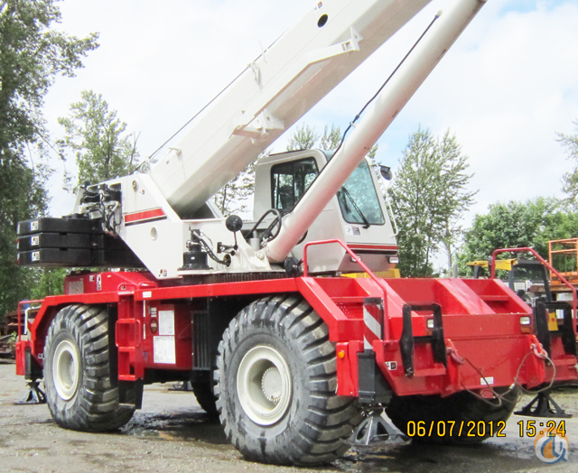 Sold 2008 Link-Belt RTC 8090SII Crane for  in Washington District of Columbia on CraneNetwork.com