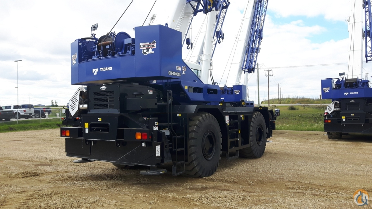2020 TADANO GR1000XL Crane for Sale or Rent in Oakville Ontario on CraneNetwork.com