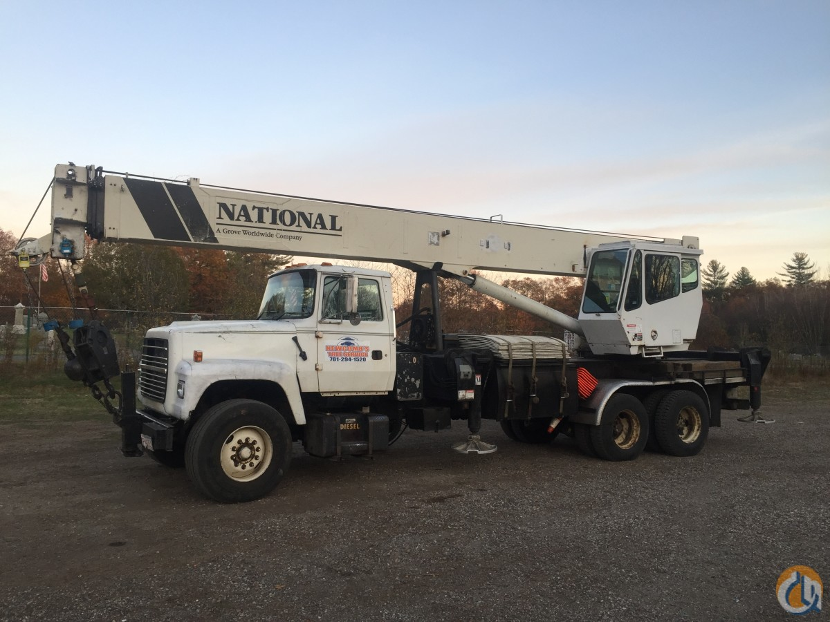 National 15127 Boom Truck Cranes Crane for Sale 1997 Ford National crane 15127  in Hanson  Massachusetts  United States 218216 CraneNetwork