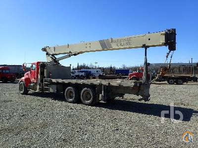 Sold 2005 PETERBILT 335 wNational 9103A 26 Ton Boom Truck Crane for  in Wasilla Alaska on CraneNetworkcom
