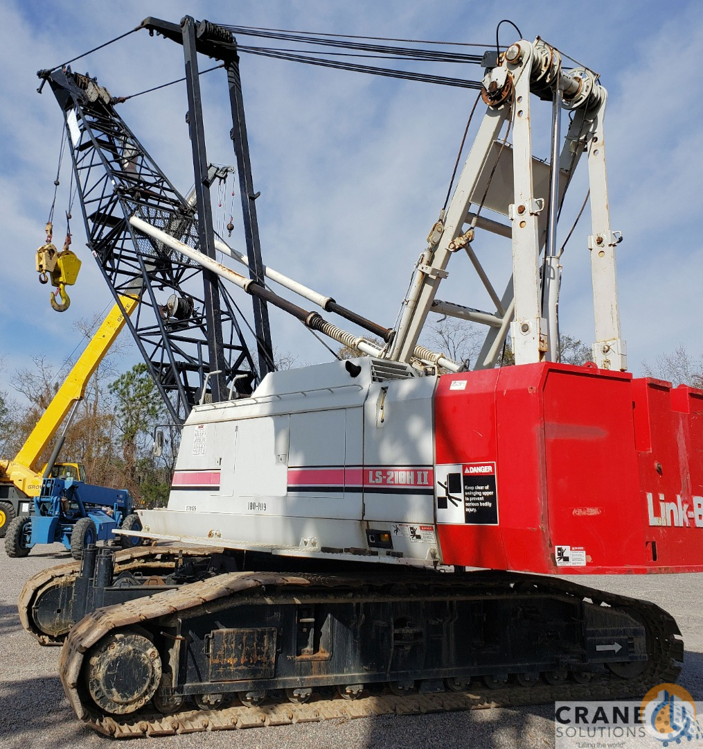2003 Link-Belt LS218H-2 Crane for Sale in Savannah Georgia on CraneNetwork.com